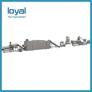 Stainless Steel Automatic Wheat Flour Fried Snacks Production Machines