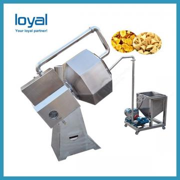Potato Chips Snacks Popcorn Roller Seasoning Machine