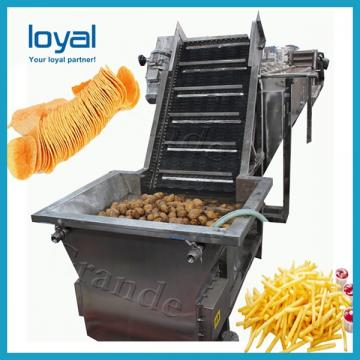 Potato French Fries Production Line Potato Chips Making Machine