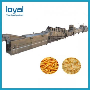 Hot Sale Potato Chips Crisps/Frozen French Fries Frying Making Machine