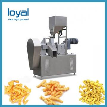 Frying Puff Corn Snack Machinery/3D Papad Snacks Food Machine