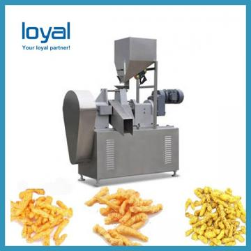 Corn Wheat Flour Food Extruder 3D Pellet Snack Machine