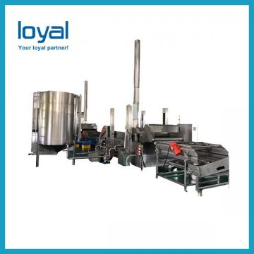 Automatic Potato Chips Production Line Frozen French Fries Making Machine