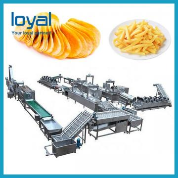 Small Scale Potato Chips Making Machine French Fries Production Line