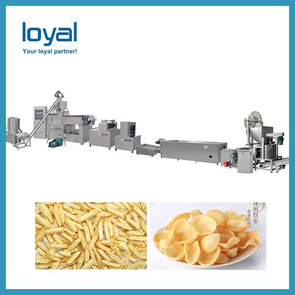 Crispy Chip Fried Wheat Flour Snack Food Making Machine #1 image