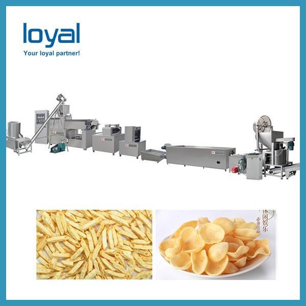Dough Snacks Fried Wheat Flour Snacks Making Machine Drying Shrimp Chips #3 image