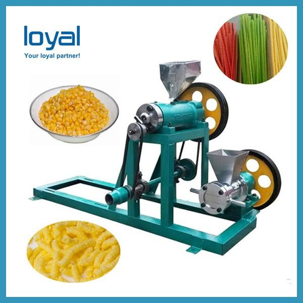 Crispy Chip Fried Wheat Flour Snack Food Making Machine #3 image