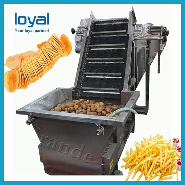 Automatic Potato Chips Production Line Frozen French Fries Making Machine #1 image